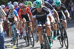 June 17, 2017 - Schaffhausen, Suisse - SCHAFFHAUSSEN, SWISS - JUNE 17 : BAKELANTS Jan (BEL) Rider of Team AG2R La Mondiale, WELLENS Tim (BEL) Rider of Team Lotto - Soudal during stage 8 of the Tour de Suisse cycling race, a stage of 100 kms between Schaffhaussen and Schaffhaussen on June 17, 2017 in Schaffhaussen, Swiss, 17/06/2017 (Credit Image: © Panoramic via ZUMA Press)