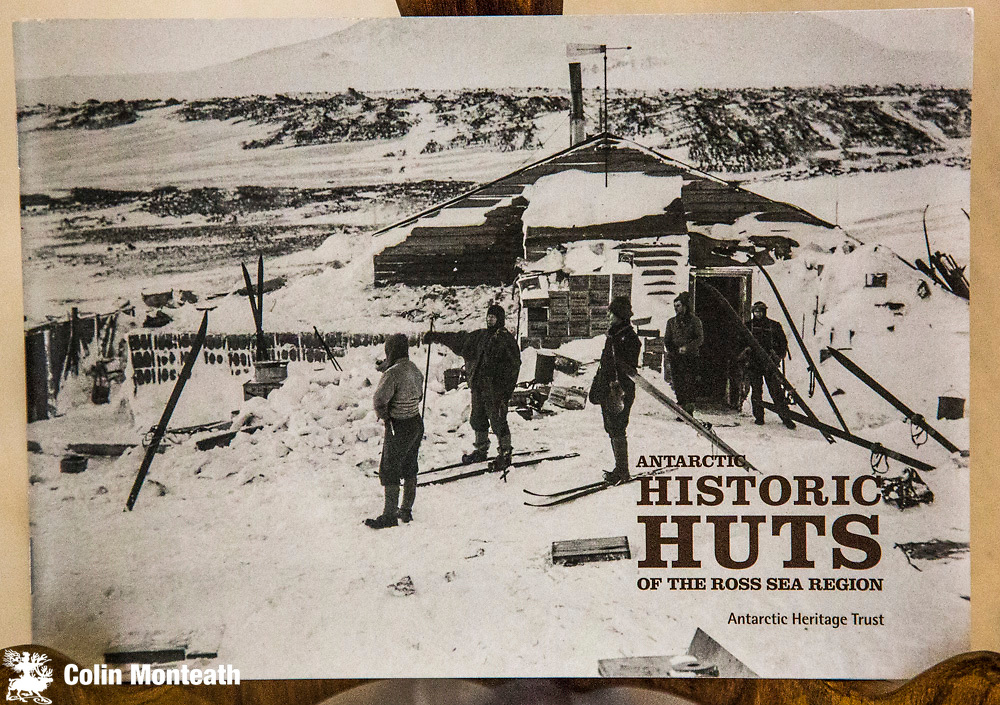 HISTORIC HUTS OF THE ROSS SEA REGION, New Zealand Antarctic Heritage trust, Christchurch, 2012, 40 page booklet, profusely illustrated in colour and B&W, An excellent survey of historic sites in Ross Dependency, stating aims of AHT to preserve these buildings. $35