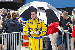 June 10, 2018 - Brooklyn, Michigan, U.S - NASCAR driver TY DILLON (13) walks in the pit area at Michigan International Speedway. (Credit Image: © Scott Mapes via ZUMA Wire)