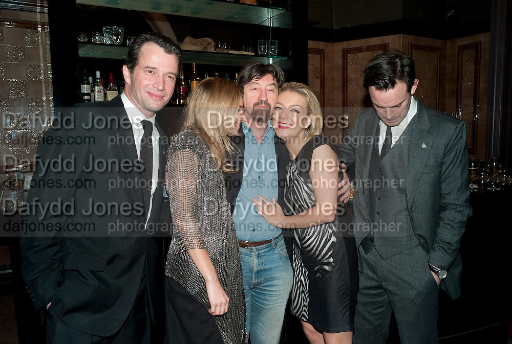 JAMES PUREFOY;  SIENNA MILLER; SIR TREVOR-NUNN; SHERIDAN SMITH; HARRY HADDEN-PATON,,, After -party celebrating the Gala Preview of the new west end production of Flare Path, Whitehall. March 10 2011.  -DO NOT ARCHIVE-© Copyright Photograph by Dafydd Jones. 248 Clapham Rd. London SW9 0PZ. Tel 0207 820 0771. www.dafjones.com.