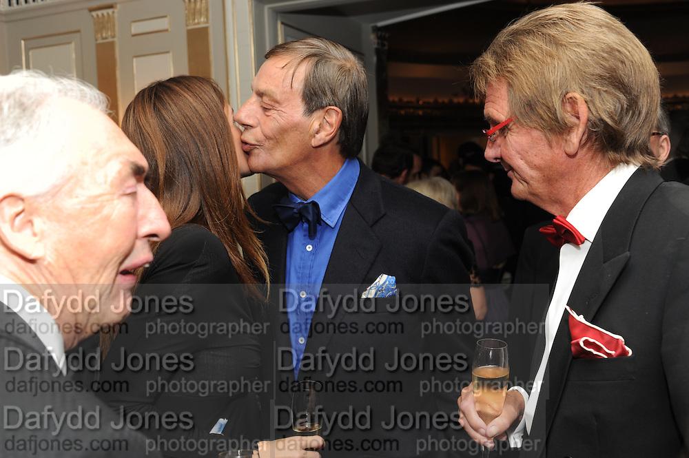SIR ROBERT OGDEN; ANNA OLIVEIRA; SIR HENRY CECIL; ANDY STEWART, The Cartier Racing Awards. The Ballroom, Dorchester hotel. Park Lane. London. 15 November 2011. <br /> <br />  , -DO NOT ARCHIVE-© Copyright Photograph by Dafydd Jones. 248 Clapham Rd. London SW9 0PZ. Tel 0207 820 0771. www.dafjones.com.