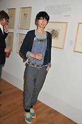 STELLA TENNANT at a private view of work by the late Rory McEwen - The Colours of Reality, held at the Shirley Sherwood Gallery, Kew Gardens, London on 20th May 2013.