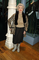 DORIS BARRY sister of the late ballerina Dame Alicia Markova at The Critic's Circle National Dance Awards 2005 held at The Royal Opera House, Covent Garden on 19th January 2006.<br /><br />NON EXCLUSIVE - WORLD RIGHTS