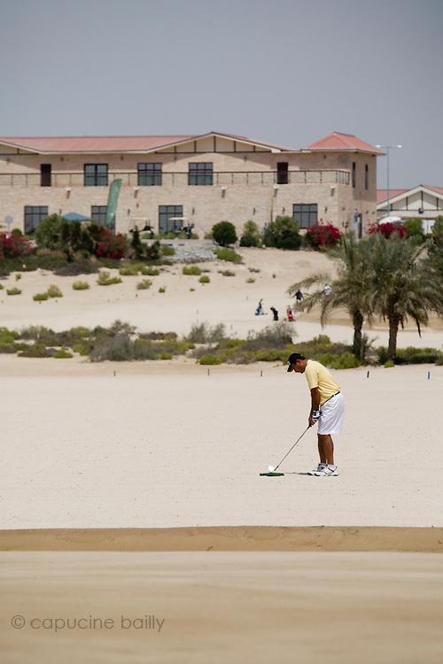 Abu Dhabi, United Arab Emirates (UAE). .March 20th 2009..Al Ghazal Golf Club..36th Abu Dhabi Men's Open Championship..Saeed Malik