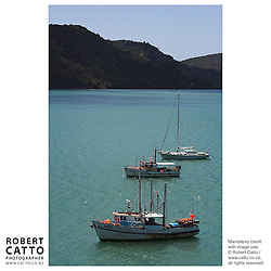 Whangaroa Harbour, Whangaroa, Northland, New Zealand.<br />