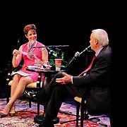 NHPR's Virginia Prescott interviews Chris Mathews at The Music Hall in Portsmouth, NH