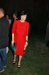 ALICE RAWSTHORN at a party to celebrate the publication of Notting Hell by Rachel Johnson held in the gardens of 1 Rosmead Road, London W11 on 4th September 2006.<br /><br />NON EXCLUSIVE - WORLD RIGHTS