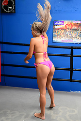 Georgia Crone attending the Ex On The Beach Photocall, held at the Fight City Gym, London. PRESS ASSOCIATION Photo. Picture date: Tuesday June 20, 2017.
