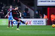 Chris Maguire of Sunderland (7) in action during the EFL Sky Bet League 1 match between Scunthorpe United and Sunderland at Glanford Park, Scunthorpe, England on 19 January 2019.