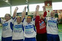 Håndball, 09 mai 2004, finale sluttspillet damer, Nordstrand-Tertnes,, Monica Sandve , Unni Nyhammar Hinkel, Randi Gustad, Vibeke Nordli, Anette Hovind <br /> Johansen Nordstrand