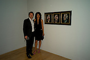 Viktor Lazlo:  ( Sonia Dronier) francis Lombrail;, Francis Bacon opening private view and dinner. Tate Britain. 8 September 2008 *** Local Caption *** -DO NOT ARCHIVE-© Copyright Photograph by Dafydd Jones. 248 Clapham Rd. London SW9 0PZ. Tel 0207 820 0771. www.dafjones.com.