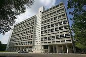 """Images of Briey: Cité Radieuse """"Unité d'habitation"""" designed by Architect Le Corbusier (1960)"""