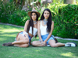EXCLUSIVE: Shanina Shaik and Nicole Williams spotted looking flawless at the 2018 Coachella music festival!. 14 Apr 2018 Pictured: Shanina Shaik, Nicole Williams. Photo credit: MEGA TheMegaAgency.com +1 888 505 6342