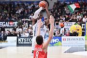 TRENTO 15 NOVEMBRE  2015<br /> Basket campionato serie A12013/2014<br /> Dolomiti Energia Trento Openjobmetis Varese<br /> Nella Foto Dominique Sutton Dolomiti Energia Trento<br /> Foto Ciamillo
