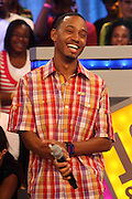 Terrence J at BET's 106 & Park promotion of Jeremy Pivens' new film ' The Goods' on August 6, 2009 in New York City