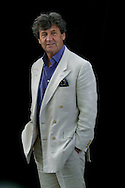British writer and broadcaster, Lord Melvyn Bragg, pictured at the Edinburgh International Book Festival, where he gave a reading of his best-selling book 'The Adventure of Language'. The book festival was a part of the Edinburgh International Festival, the largest annual arts festival in the world.