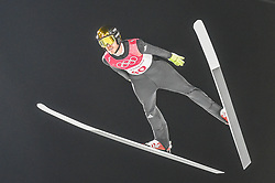 February 10, 2018 - Pyeonchang, Gangwon, South Korea - mens normal hill final at 2018 Pyeongchang winter olympics at Alpensia Ski Jumping Centre, Pyeongchang, South Korea on February 10, 2018. Ulrik Pedersen/Nurphoto  (Credit Image: © Ulrik Pedersen/NurPhoto via ZUMA Press)
