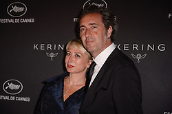 Paolo Sorrentino, Daniela D Antonio attending the Kering Women In Motion Awards Dinner ahead the 70th Cannes Film Festival, in Cannes, France on May 21, 2017. Photo Julien Reynaud/APS-Medias/ABACAPRESS.COM