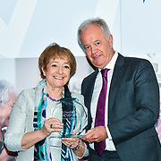 Martin Young Present  Winner of  Politics – Dame Margaret Hodge DBE of the 7th annual Churchill Awards honour achievements of the Over 65's at Claridge's Hotel on 10 March 2019, London, UK.