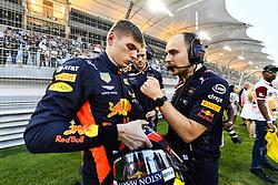 April 8, 2018 - Sakhir, Bahrain - Motorsports: FIA Formula One World Championship 2018, Grand Prix of Bahrain,#33 Max Verstappen (NDL, Red Bull Racing) (Credit Image: © Hoch Zwei via ZUMA Wire)