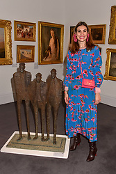 Maria Kastani at the Women for Women International #SheInspiresMe Auction held at Sotheby's New Bond Street, England. 19 November 2018. <br /> <br /> ***For fees please contact us prior to publication***