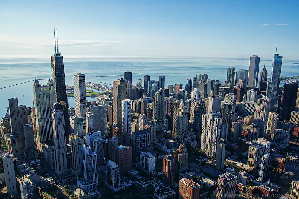 Chicago Metropolis in the Morning
