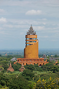 Nann Myint Tower, also known as the Bagan Tower is a modern built hotel and viewing platform in the ancient city complex of Bagan, Myanmar