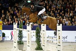 Voorn Vincent (NED) - Gestion Priamus Z<br /> Jumping Amsterdam 2012<br /> © Hippo Foto - Leanjo de Koster