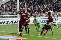esultanza gol Fabio Quagliarella<br /> Torino 26-04-2015 Stadio Olimpico, Football Calcio Serie A Torino - Juventus Foto Image Sport / Insidefoto