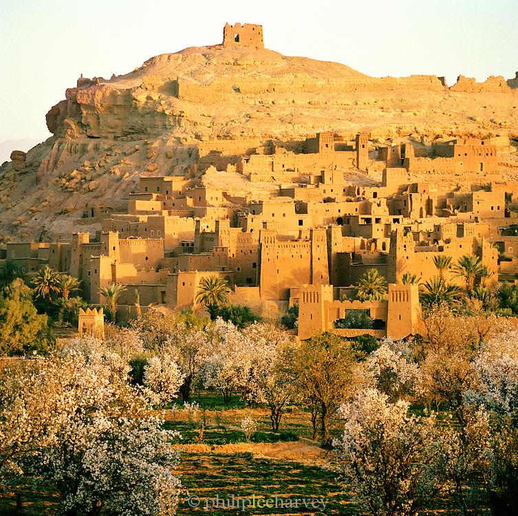 Kasbah Ait Benhaddou in Ouarzazate, Morocco