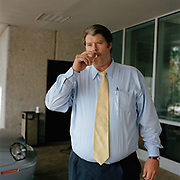 Robert Massie, Car salesman smoking on his break. From a series on car salesmen taken in the southern states of America.