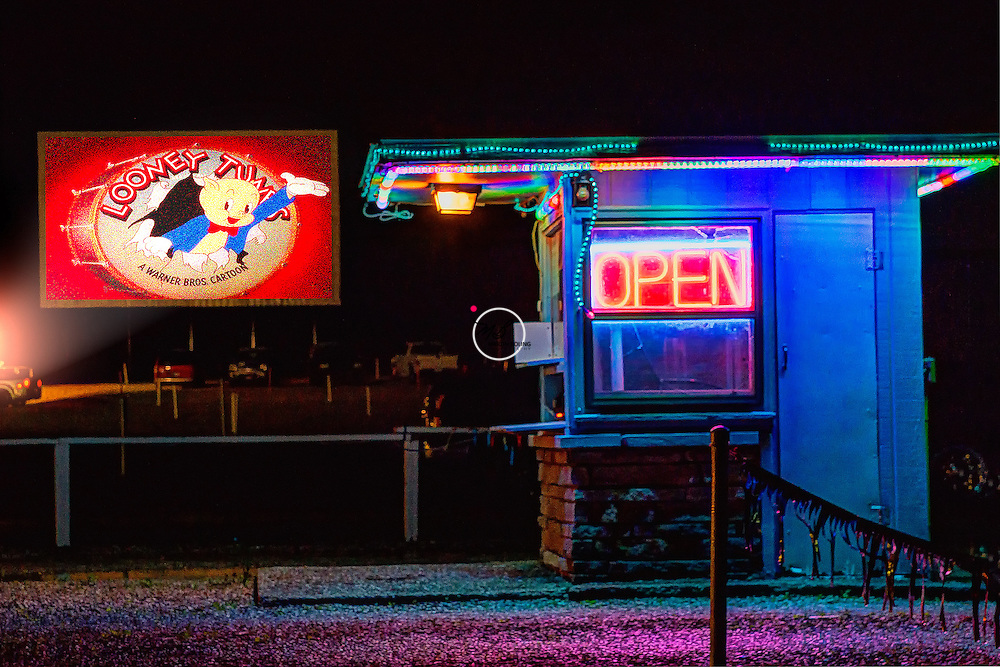Looney Tunes Drive-in Theater