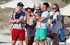 Formentera: Wayne Rooney & Family - 2 July 2017