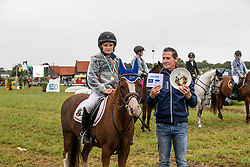 De Roo Lars, BEL, Hopper Golden H<br /> Nationaal Tornooi LRV Ponies<br /> Zonnebeke 2019<br /> © Hippo Foto - Dirk Caremans<br />  29/09/2019