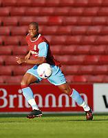 Photo: Mark Stephenson.<br /> Stoke City v Aston Villa. Pre Season Friendly. 01/08/2007.<br /> Villa's new siging Marlon Harewood