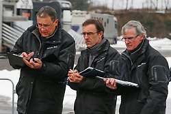Jury Schepers Boudewijn, De Smet Stefan, Floren L., Bode H. Meurrens Inge<br /> 3de fase BWP Hengstenkeuring - Neeroeteren 2013<br /> © Dirk Caremans