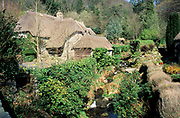 Thatched Stone Cottage, Buckland in the Moor, Devon, UK