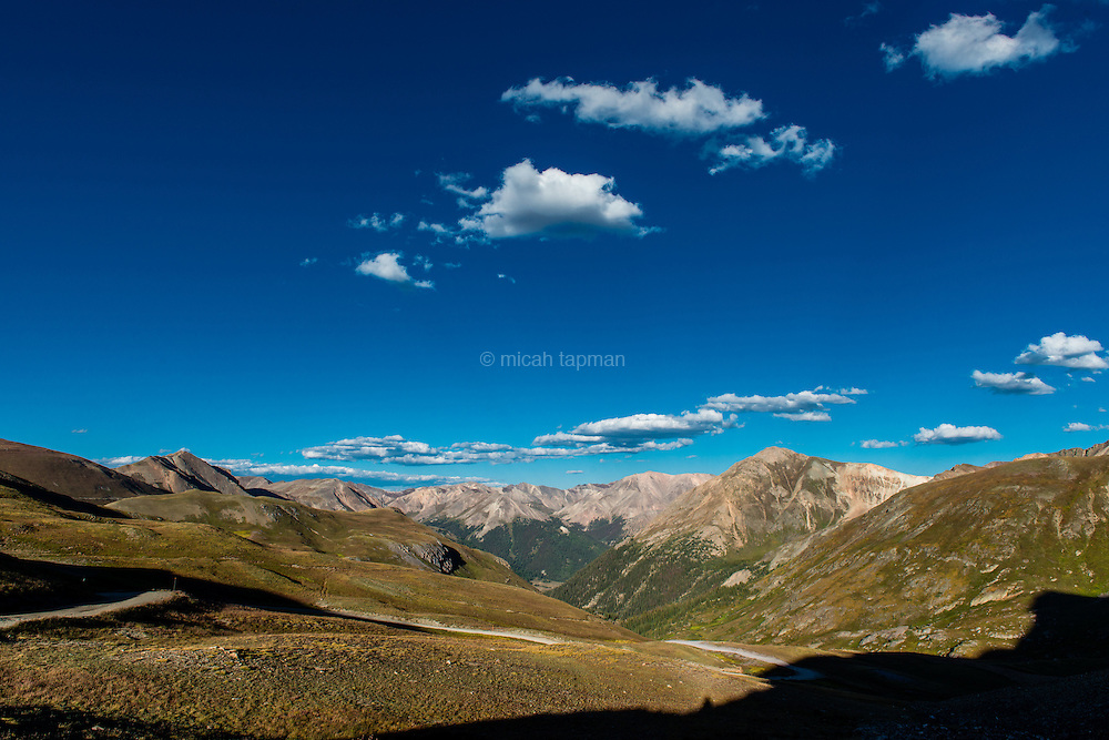 Mountain view from the Alpine Loop in southwestern Colorado.