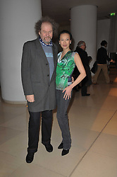 MIKE FIGGIS and ROSEY CHAN at a Burns Night dinner in aid of cancer charity CLIC Sargent held at St.Martin's Lane Hotel, London on 25th January 2011.