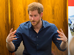 February 21, 2017 - Gateshead, United Kingdom - Image licensed to i-Images Picture Agency. 21/02/2017.Gateshead,  United Kingdom.  Prince Harry  learnt how the charity Walking With the Wounded is working with the local council and police in Gateshead, United Kingdom, on projects to support ex-servicemen, with a focus on providing specialist support for mental health. Picture by ROTA / i-Images  UK OUT FOR 28 DAYS (Credit Image: © Rota/i-Images via ZUMA Press)