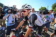 Arrival Tom Dumoulin (NED - Team Sunweb) during the 105th Tour de France 2018, Stage 6, Brest - Mur de Bretagne Guerledan (181km) in France on July 12th, 2018 - Photo George Deswijzen / Proshots / ProSportsImages / DPPI