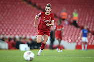 Liverpool women midfielder Melissa Lawley (11) during the FA Women's Super League match between Liverpool Women and Everton Women at Anfield, Liverpool, England on 17 November 2019.