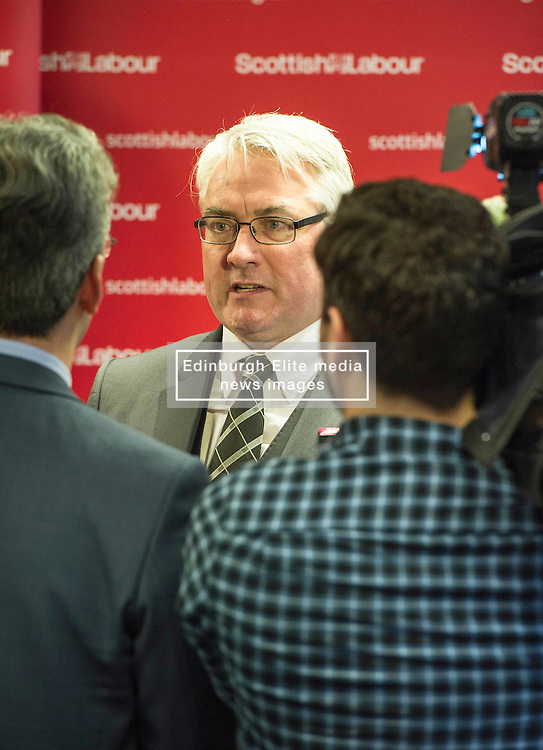 Pictured: Michael McCann, MP<br /> <br /> Ahead of the Scottish Local elections, Scottish Labour deputy leader, Alex Rowley delivered speech in Edinburgh on local government.  <br /> Ger Harley | EEm 11 January 2017
