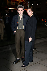 The Naked Heart Foundation's Fabulous Fund Fair at the Roundhouse in London, UK. 18 Feb 2019 Pictured: Brooklyn Beckham and Hana Cross. Photo credit: Fred Duval/MEGA TheMegaAgency.com +1 888 505 6342