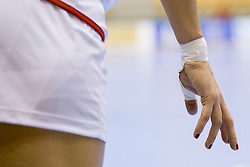 Nails during handball match between Women National Teams of Slovenia and Czech Republic of 2nd Round of EURO 2018 Qualifications, on 1st October, 2017 in Dvorana Zlatorog, Celje, Slovenia. Photo by Urban Urbanc / Sportida