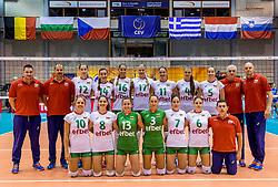 22-08-2017 NED: World Qualifications Slovenia - Bulgaria, Rotterdam<br /> Bulgaria win 3-1 against Slovenia / team Bulgaria<br /> Photo by Ronald Hoogendoorn / Sportida