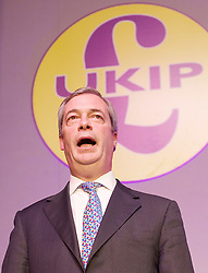 UKIP 2015 Spring Conference at the Winter Gardens Margate, Great Britain <br /> 28th February 2015 <br /> <br /> Nigel Farage MEP<br /> Leader of UKIP<br /> <br /> <br /> <br /> <br /> <br /> Photograph by Elliott Franks <br /> Image licensed to Elliott Franks Photography Services