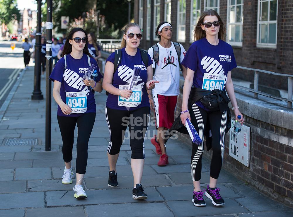 London, England, 10/06/17 - Walk It<br /> <br /> Pic by Daniel Hambury for Alex Broadway Photography