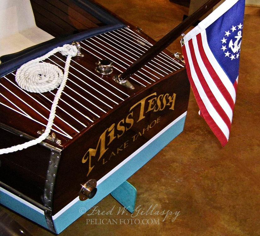 Miss Tessa ~ Tahoe Maritime Museum