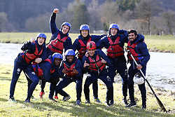 March 14, 2018 - Rendeux, Belgique - illustration rafting  pictured during the team building of Rsc Anderlecht in Rendeux , Belgium. ***RENDEUX, BELGIUM - March 14, 2018..EXCLUSIF (Credit Image: © Panoramic via ZUMA Press)